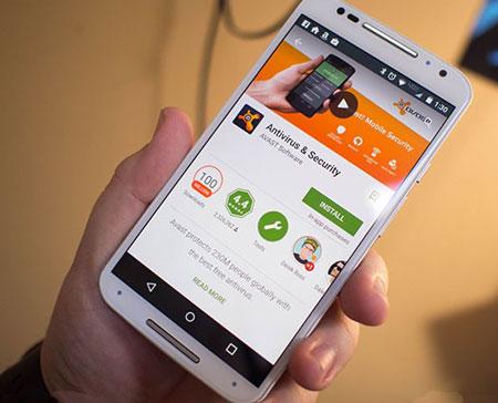 تأمین امنیت گوشی, گوگلپلی استور, گوشی اندروید