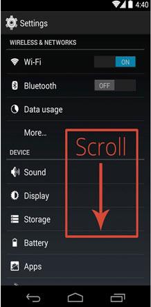 گوشی اندروید, نرم افزارهای تلفن همراه