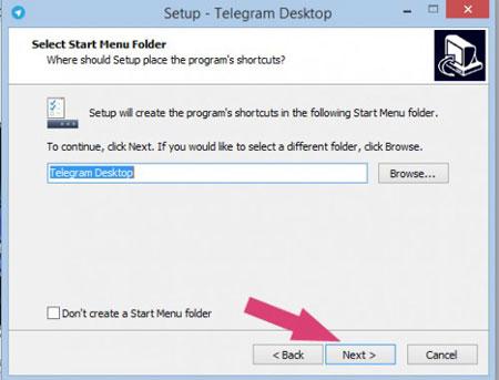 تنظیمات تلگرام, آموزش ثبت نام در تلگرام