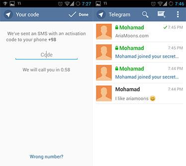 آموزش ثبت نام در تلگرام,نصب تلگرام روی کامپیوتر,ترفندهای اینترنتی