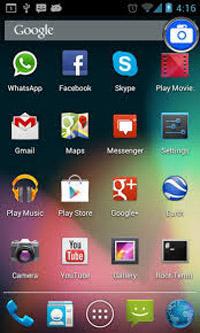 مرتب کردن صفحه گوشی, برنامه های کاربردی گوشی