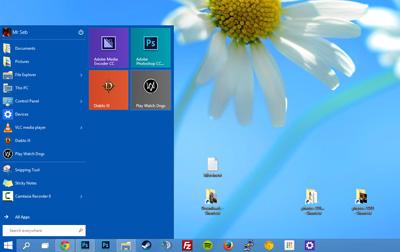 تنظیمات ویندوز, موتور جستوجوی Bing