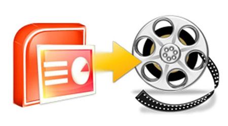 تبدیل پاورپووینت به یک فایل ویدیویی