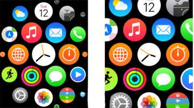 بزرگ کردن آیکون,ترفند موبایل,ساعت مچی هوشمند اپل واچ