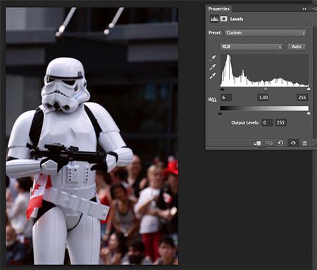 هیستوگرام, تنظیم نور تصاویر