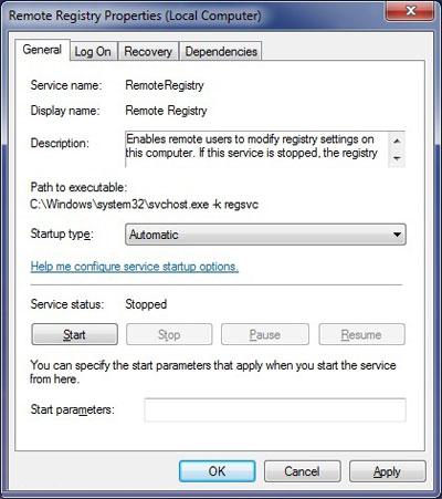 رجیستری ویندوز, جستجو ویندوز