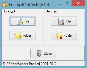 رمز گذاری پوشه, فایلهای ویندوز