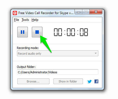 Free Video Call Recorder For Skype, ترفندهای اسکایپ