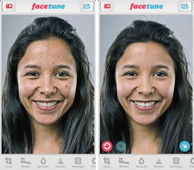 عکس سلفی,اپلیکیشنهای پیشرفته عکاسی