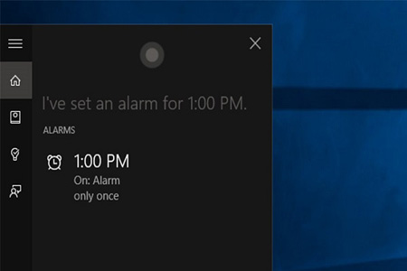 دستیار صوتی مایکروسافت,کورتانا در ویندوز 10