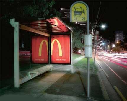 رقابت آگهي هاي تبليغاتي خلاقانه و جالب مک دونالد