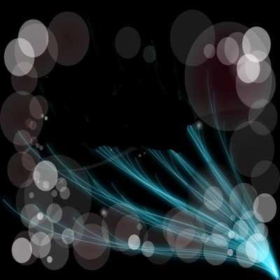 آموزش ایجاد اشکال نورانی در فتوشاپ