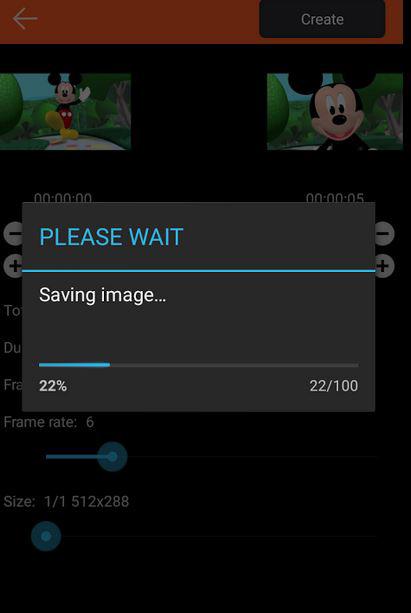 ساخت  تصاویر متحرک در اندروید, اپلیکیشن GIF Me Camera