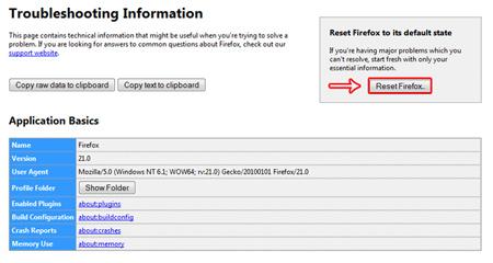 فایرفاکس , کاهش سرعت مرورگر