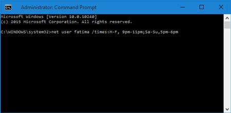رجیستری ویندوز, تنظیمات ویندوز 10