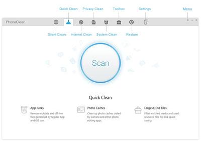 پاک کردن فایلهای اضافی در آیفون , سیستم عامل iOS