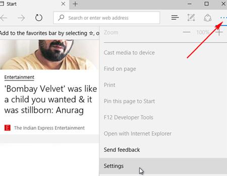 مرورگر اج, مرورگر Microsoft Edge
