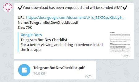 ربات های تلگرام, محیط چت تلگرام