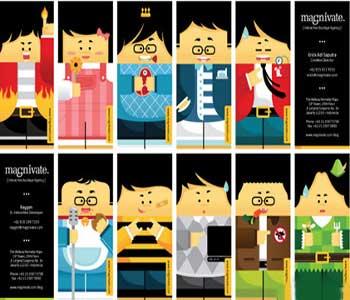 مجموعه 19 کارت ویزیت جالب و خنده دار