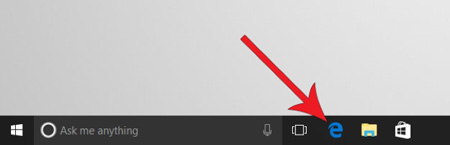 مرورگر اج در ویندوز 10 , حذف اتوماتیک تاریخچه مرورگر