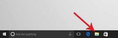 فرمت فایلهای ویندوز 10, نمایش پسوند فایل ها
