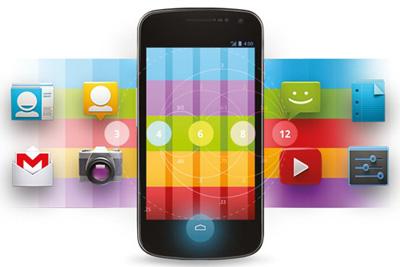 تغییرنام آیکون موبایل, اپلیکیشنهای اندروید