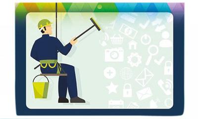 مدیریت ایمیلها , پاکسازی موبایل