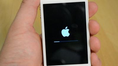 تنظیمات گوشی موبایل, ریستارت آیفون