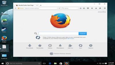 مرورگر گوگل کروم, تنظیمات سیستم ویندوز 10