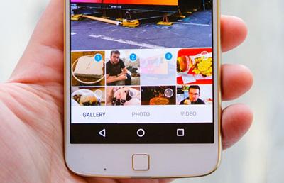 اپلیکیشن اینستاگرام , ارسال چند ویدیو در یک پست اینستاگرام