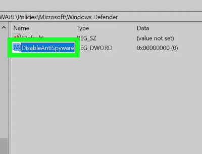 مشکل windows defender,غیرفعالسازی windows defender
