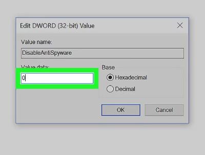 چگونگی فعال windows defender, مشکل windows defender