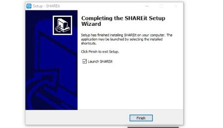 استفاده از SHAREit روی کامپیوتر شخصی, نصب SHAREit روی کامپیوتر