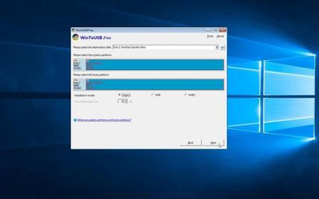نصب ویندوز 10 روی فلش , اجرای ویندوز 10 از یک یو اس بی درایو