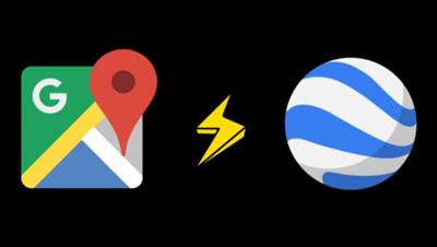 تفاوتهای بین گوگل ارث و گوگل مپ