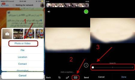 کاهش حجم فیلم ها در تلگرام