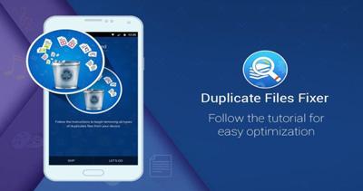 فایلهای تکراری در گوشیهای هوشمند , حذف فایلهای تکراری