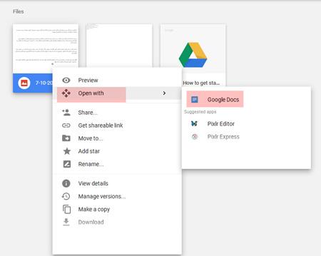 آموزش تبدیل فایل PDF و عکس به WORD