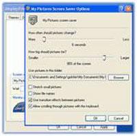 تصاویرScreen Saver به درستی کار نمی کنند؟