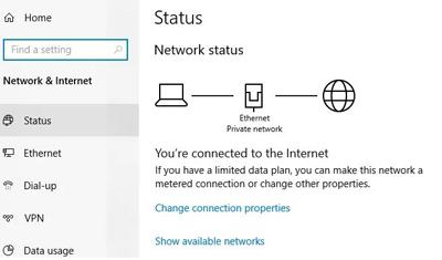 علت وصل نشدن به اینترنت و راهکارهای رفع مشکل آن, وصل نشدن کامپیوتر به اینترنت