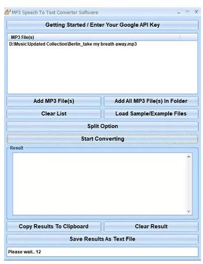 برنامه تبدیل فایل های صوتی, نرم افزار تبدیل فایل های صوتی به متن