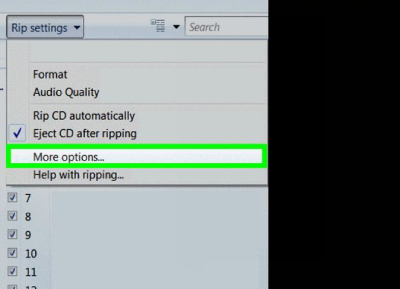 نرم افزار تبدیل CD صوتی به MP3, آموزش تبدیل فایل های صوتی به (mp3) با مدیا پلیر