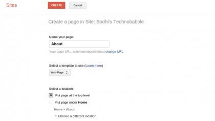 نحوه ایجاد وبسایت, سرویس سایت گوگل