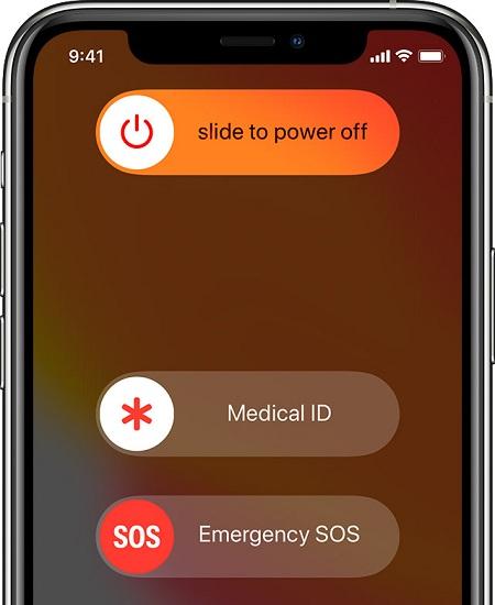 تماس اضطراری در ایفون, گوشی های هوشمند ios, غیرفعال کردن قابلیت تماس اضطراری در سیستم عامل iOS