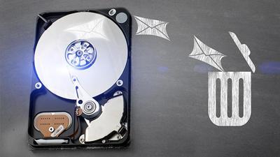 افزایش فضای حافظه ویندوز, پر شدن حجم هارد