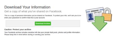 روش حذف فیس بوک, نحوه حذف فیس بوک