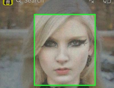 نحوه استفاده از چهره ها در Snapchat, استفاده از چهره ها در Snapchat