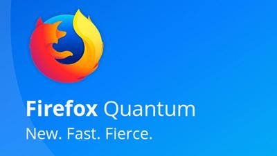 حذف سریع آی ها از نوار ابزار فایرفاکس, نسخه کوانتوم فایرفاکس