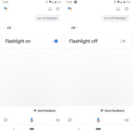 چراغ قوه برای اندروید, نرم افزار چراغ قوه برای اندروید