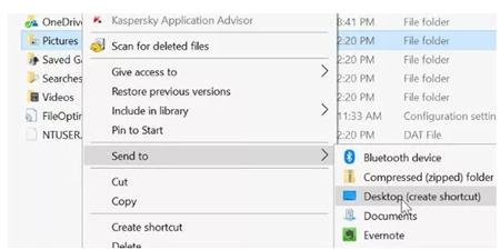 اضافه کردن به منوی send to, چگونه یک فایل را به send to